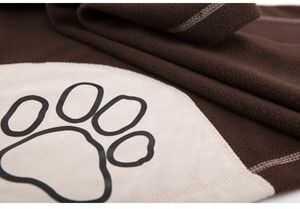 Koc dla psa Reedog Brown Paw