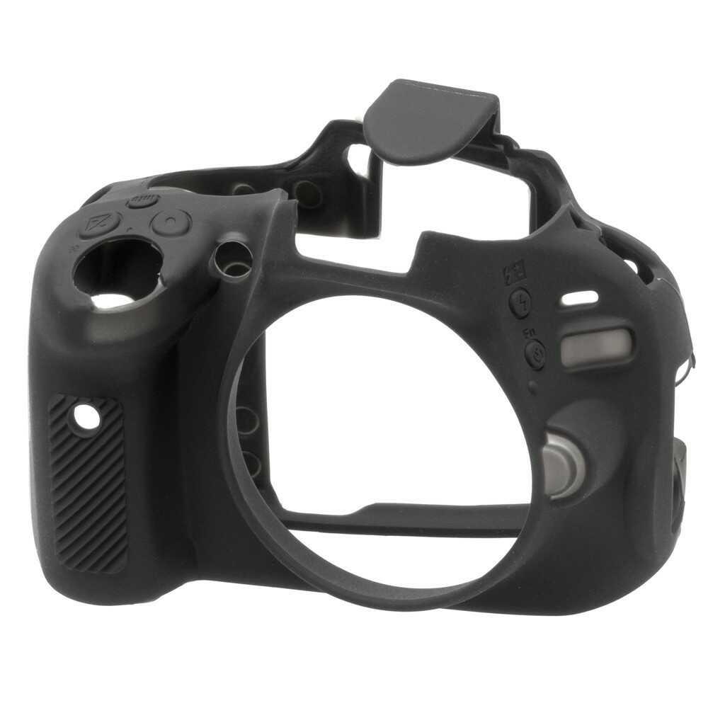 Osłona silikonowa easyCover do aparatu Nikon D5100 czarna