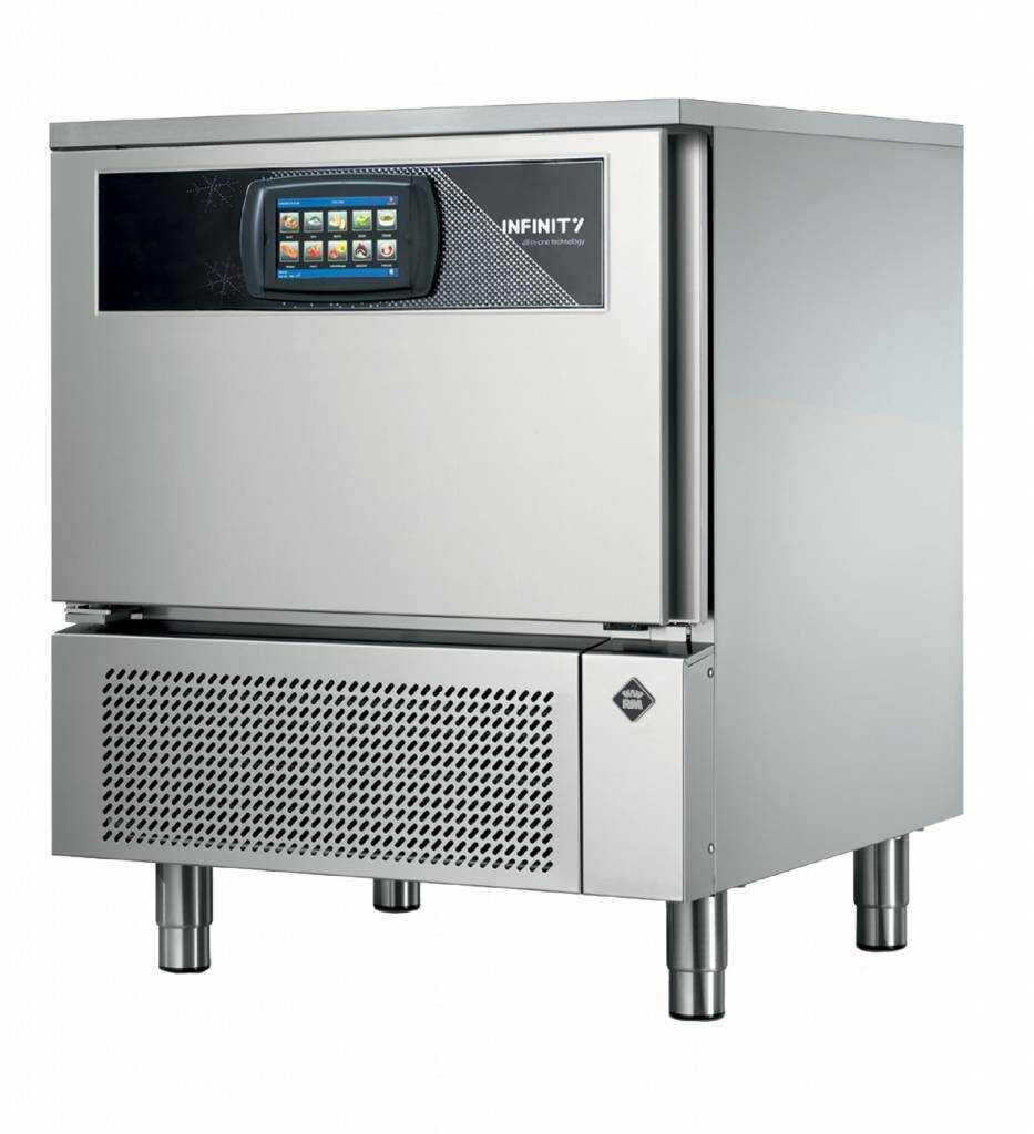 Schładzarko-zamrażarka szokowa 5xGN 1/1 578W 790x778x(H)850mm