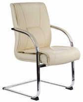 Fotel konferencyjny CorpoComfort BX-3345 Kremowy