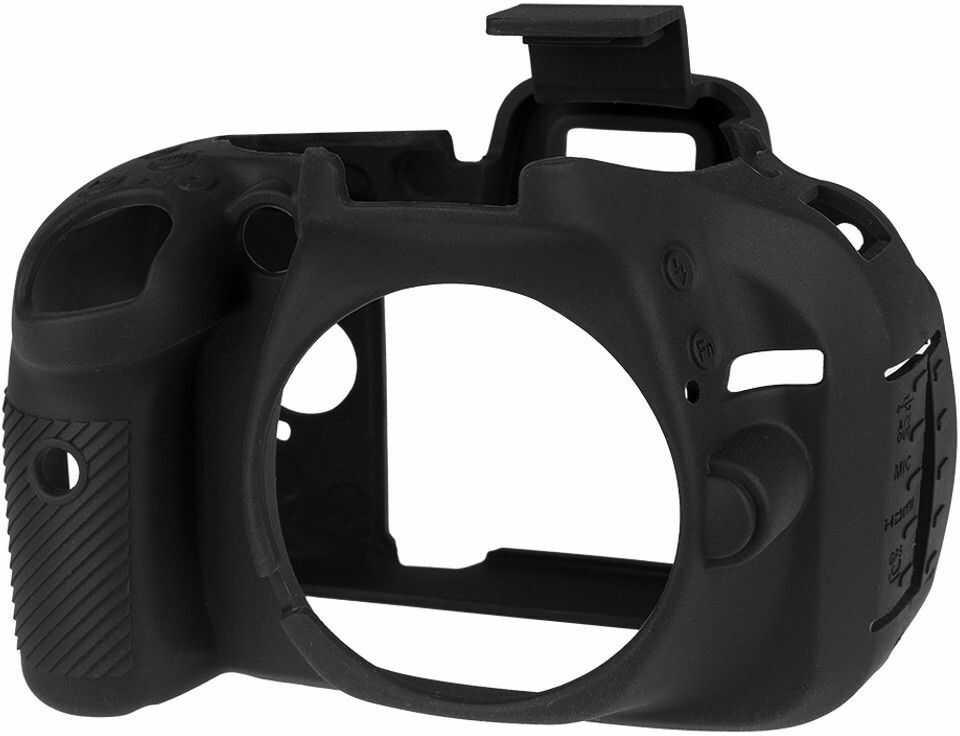 Osłona silikonowa easyCover do aparatu Nikon D5200 czarna