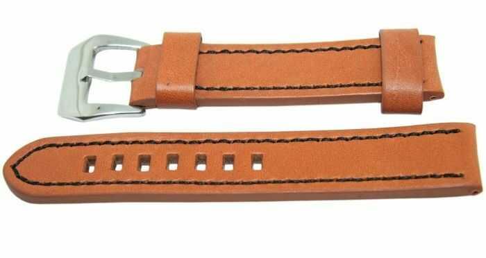 Pasek DILOY 20mm brązowy, 384.20.3.1