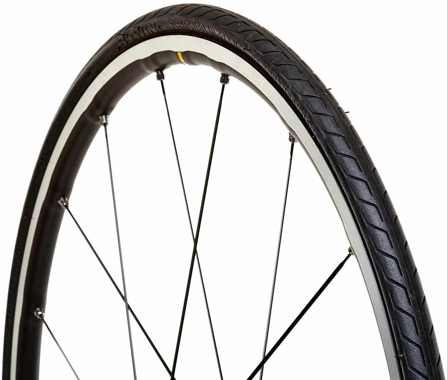 Opona do roweru szosowego TRIBAN PROTECT 700 X 32 ze sztywną stopką/ETRTO 32-622