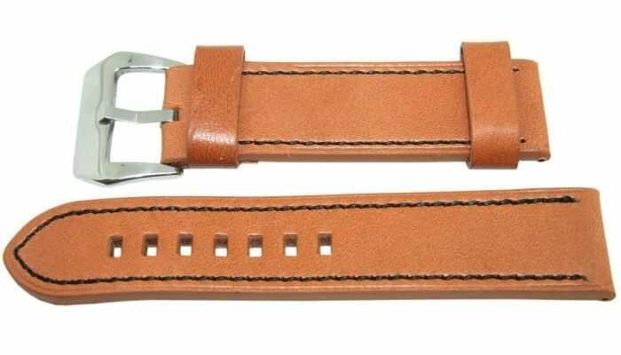 Pasek DILOY 22mm brązowy, 384.22.3.1