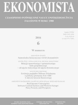 Ekonomista 2016 nr 6 - Ebook.