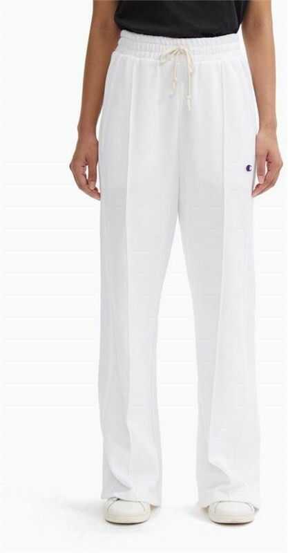 spodnie dresowe CHAMPION - Wide Leg Pants Wht (WW001