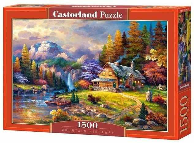Puzzle 1500 Schronisko górskie CASTOR - Castorland