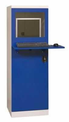 Metalowa ochronna szafka do komputera przemysłowego SMK2