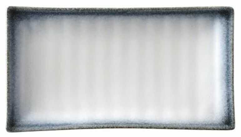 Półmisek prostokątny porcelanowy Silk