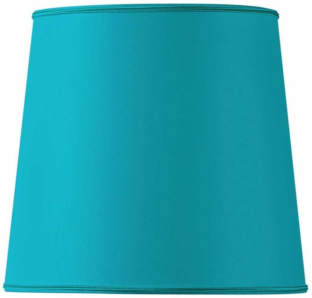Klosz lampy w kształcie USA, 35 x 28 x 28 cm, turkusowy