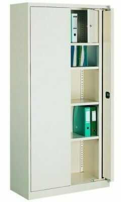 Szafa biurowa z drzwiami chowanymi Sbm 211 m lx