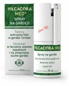 Vilcacora Med 30 ml spray na gardło (AMC Pharma)