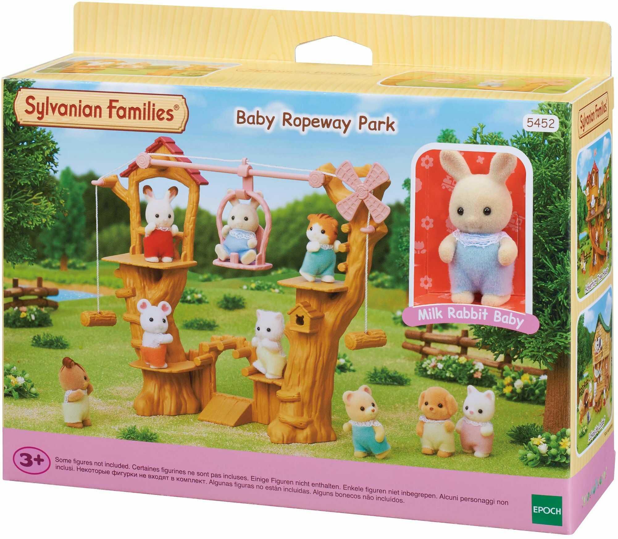 Sylvanian Families 5452 Baby Ropeway Park Playset