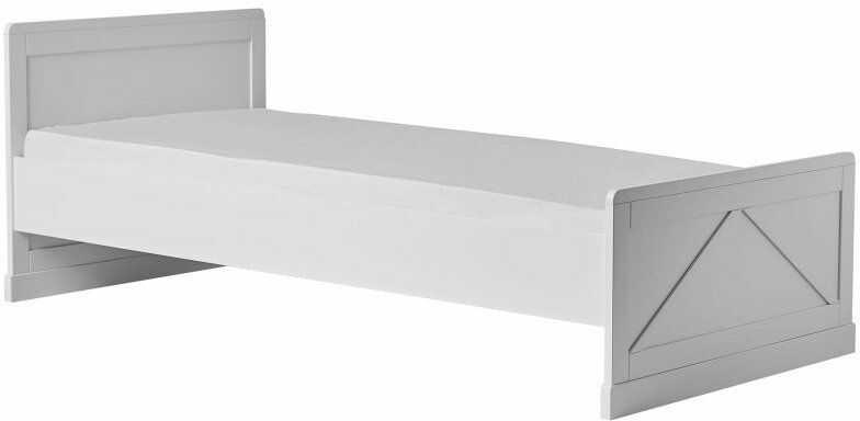 Białe łóżko 200x90 Pinio Marie