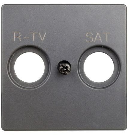 Simon 82 Pokrywa gniazda antenowego RD/TV/SAT grafit 82097-38