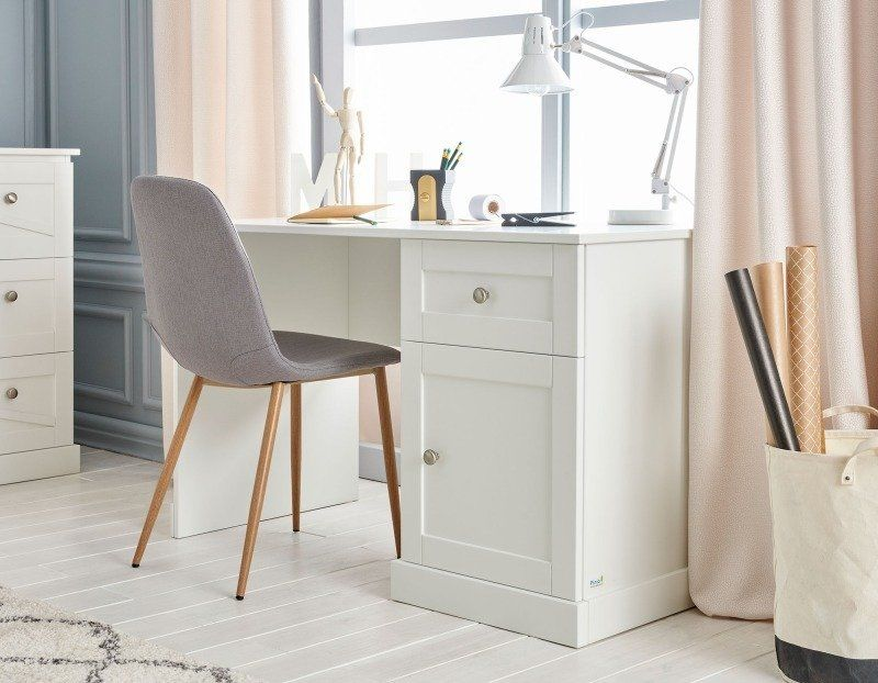 Białe biurko Pinio Marie