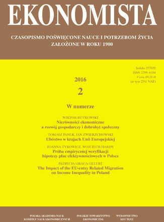 Ekonomista 2016 nr 2 - Ebook.