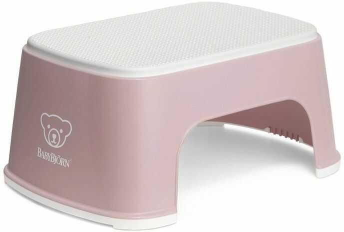 Podest dla dziecka babybjorn - różowy - różowy