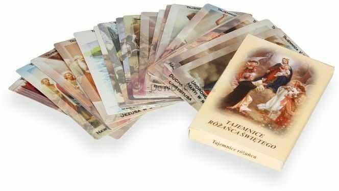 Tajemnice Różańca Świętego - 20 kart