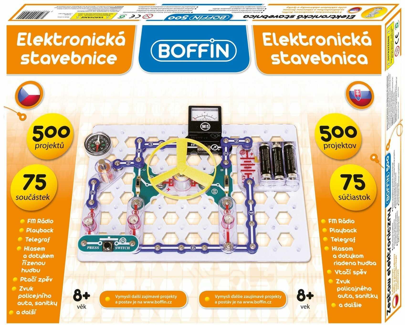 Zestaw małego elektronika Boffin I 500