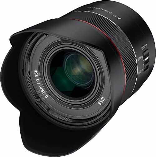 SAMYANG AF 35 mm F1,8 obiektyw autofokusu do Sony FE czarny