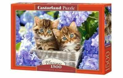 Puzzle Castorland 1500 - Śliczne kotki, Cute Kittens