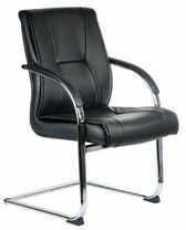 Fotel konferencyjny CorpoComfort BX-3345 Czarny
