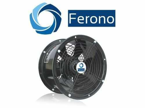 Wentylator kanałowy, osiowy, wodoszczelny 300mm, 2700m3/h (FKO300)