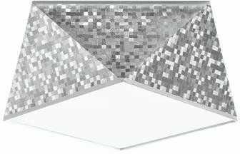 Plafon HEXA 25 SL.0688 cekin srebrna 1xE27