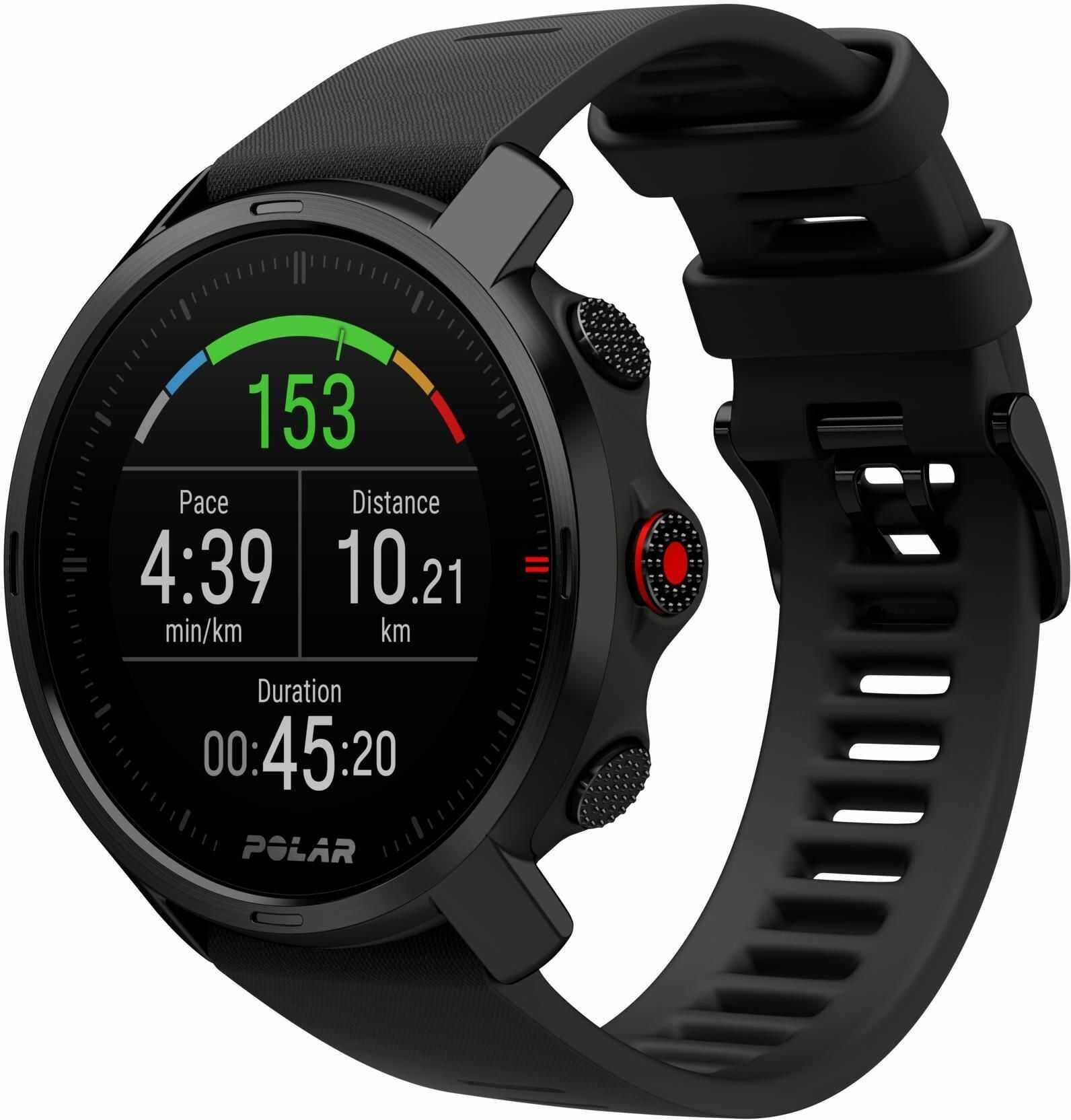 Zegarek do biegania z GPS Polar Grit X Black M/L