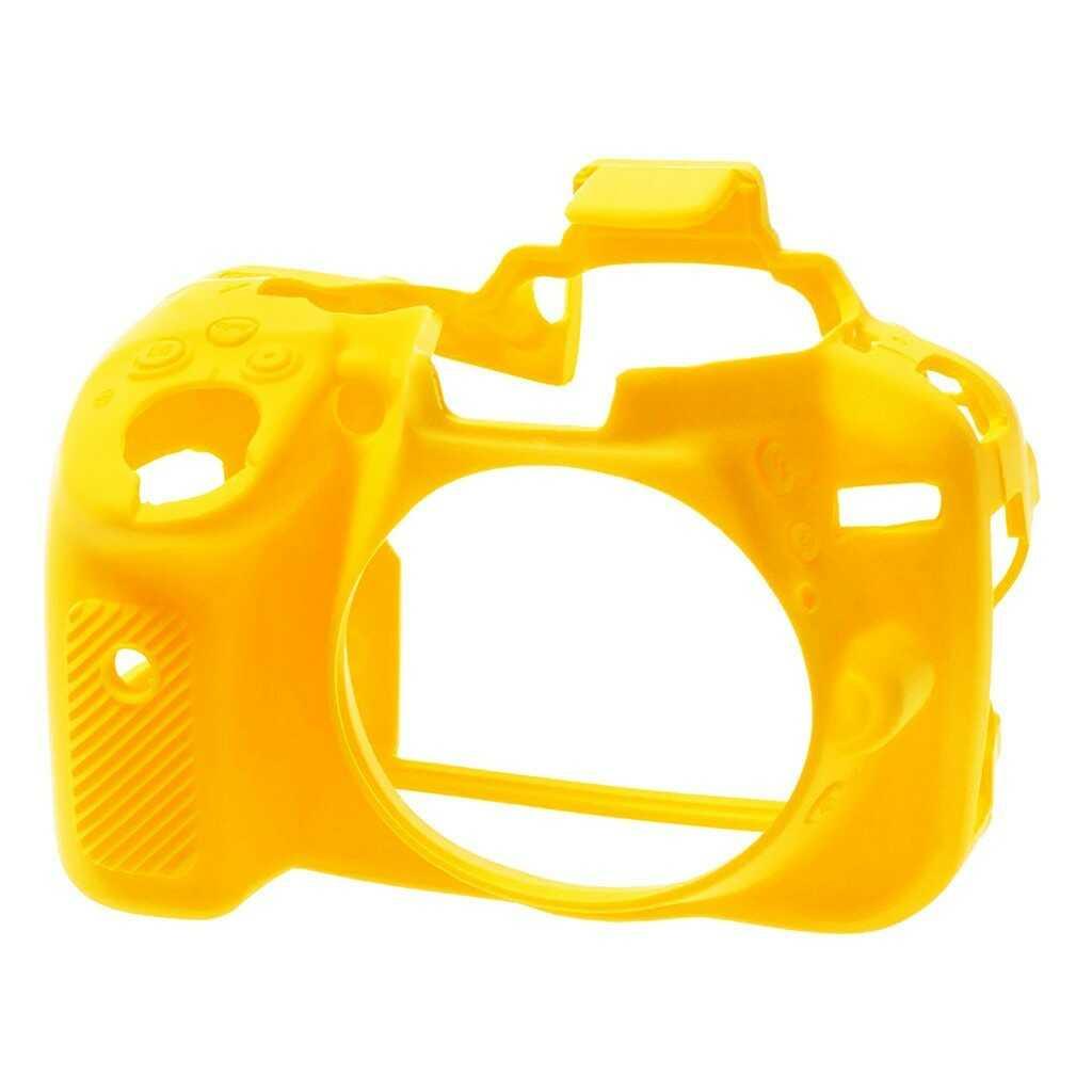 Osłona silikonowa easyCover do aparatu Nikon D5300 żółta