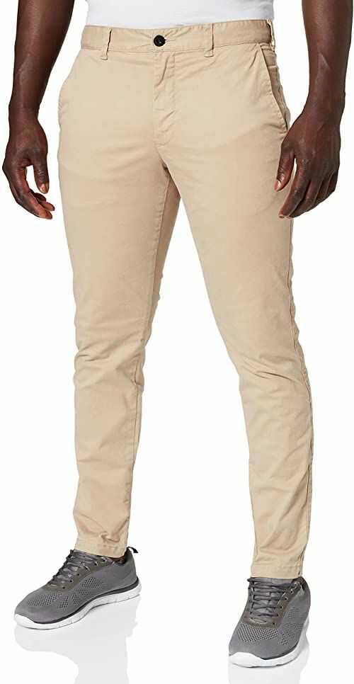 O''NEILL LM Friday Night Chino Pants dla mężczyzn, Chino, 1A2706-7500-33, beżowy, 1A2706-7500-33 jeden rozmiar