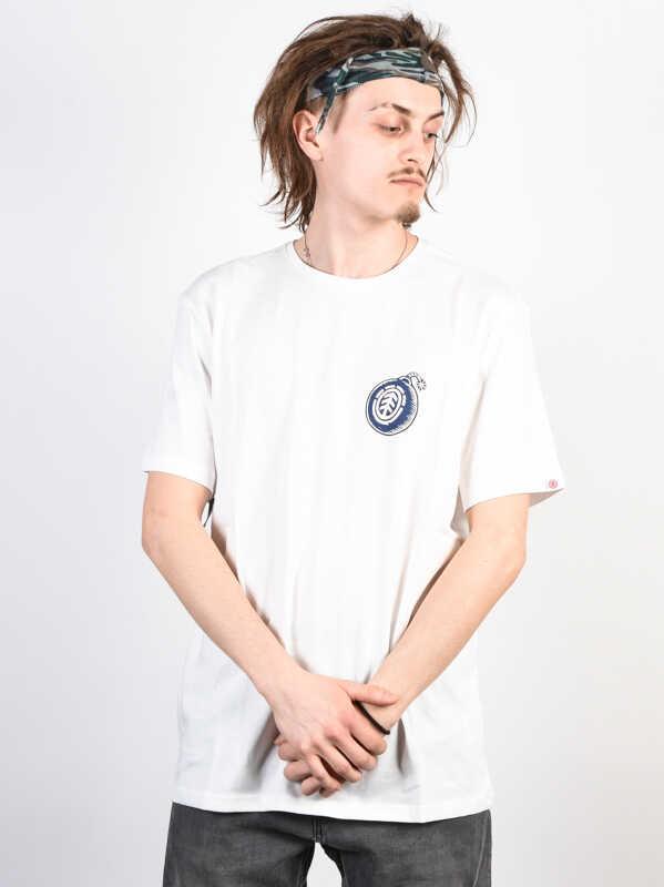 Element BLAST BONE WHITE koszulka męska