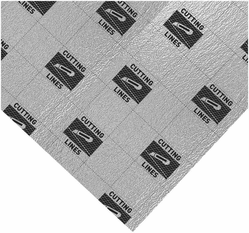 Podkład podłogowy Thermo compensation 5 mm 5.5m2 Axton