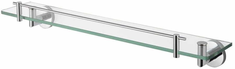 Stella Classic półka szklana przeźroczysta 60 cm 07.800 chrom