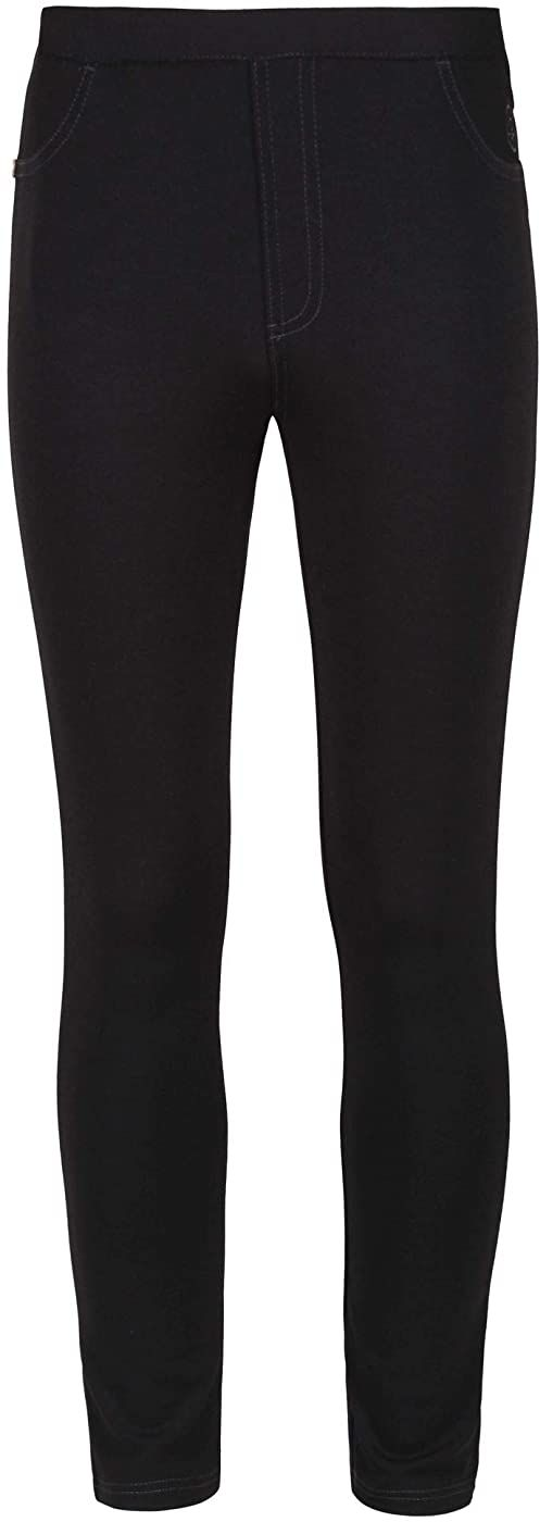 Regatta Unisex dziecięce spodnie Samanda Tregging czarny czarny FR : 2XL (Taille Fabricant : 14 yr)