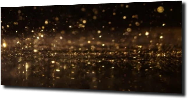 obraz na szkle, panel szklany Brokat złoto