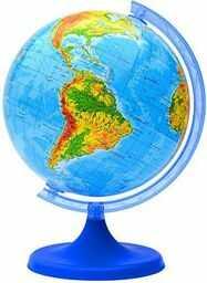 Globus fizyczny 16 cm