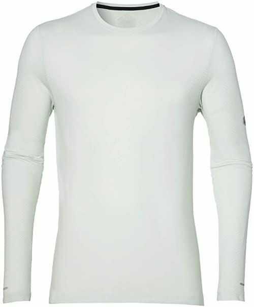 ASICS Męska koszulka bezszwowa z długim rękawem zielony jasnozielony L