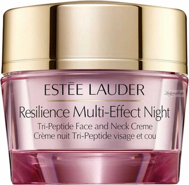 Estée Lauder - Resilience Muli-Effect Night - Tri-Peptide Face and Neck Creme - Wygładzający krem do twarzy na noc - 50 ml