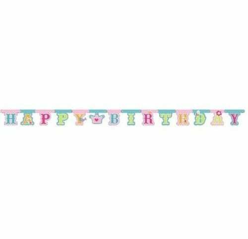 Girlanda urodzinowa Happy Birthday - Bajkowa Księżniczka
