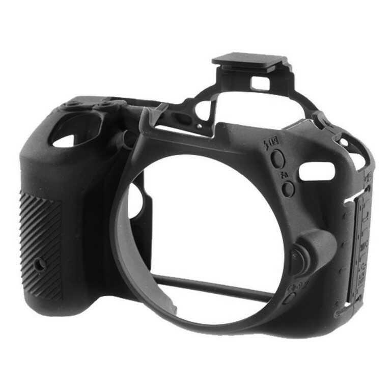 Osłona silikonowa easyCover do aparatów Nikon D5500/ D5600 czarna - WYSYŁKA W 24H