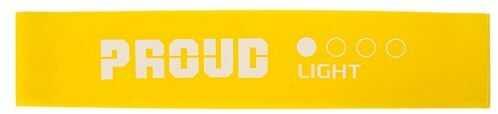 Guma do ćwiczeń i mobilizacji stawów - mini band proud - żółta (light)