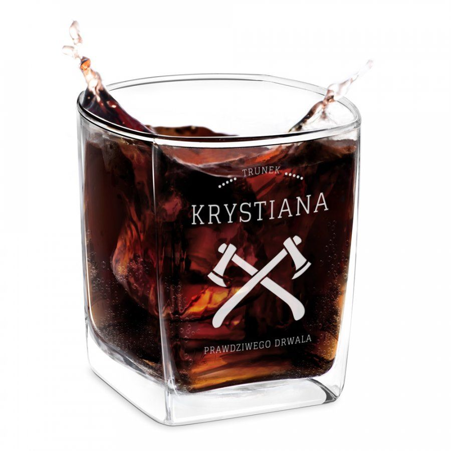 Szklanka do Whisky Grawer dla Prawdziwego Drwala