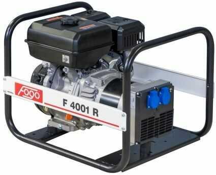 Agregat prądotwórczy Fogo F 4001 R F4001r RATO generator
