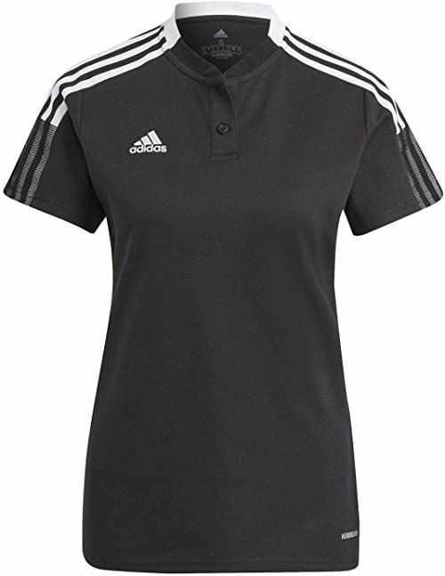 adidas TIRO21 Polo W T-shirty czarne