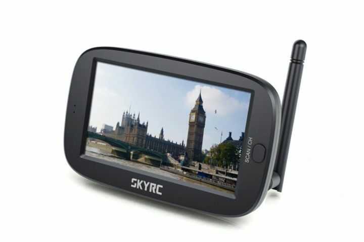 """SkyRC FPV Monitor 4.3"""" 5.8GHz"""