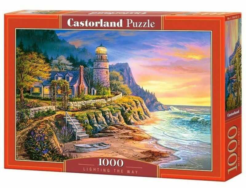 Puzzle Castor 1000 - Latarnia morska, Lighting the Way