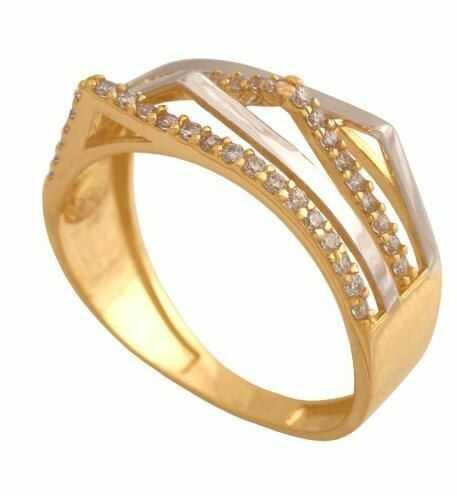 Złoty pierścionek tradycyjny Pn180
