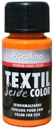 Farba do malowania jedwabiu żółto-pomarańczowa 50 ml - farba do jedwabiu Piccolino Textil Color - farba tekstylna jedwab
